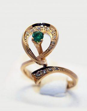 кольцо из золота 585