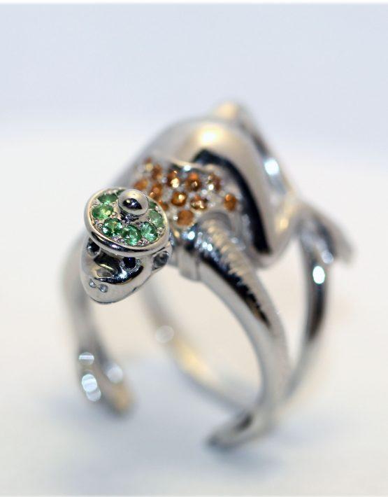 кольцо обезьянка
