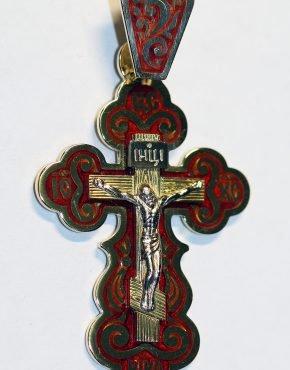 золотой крест большой