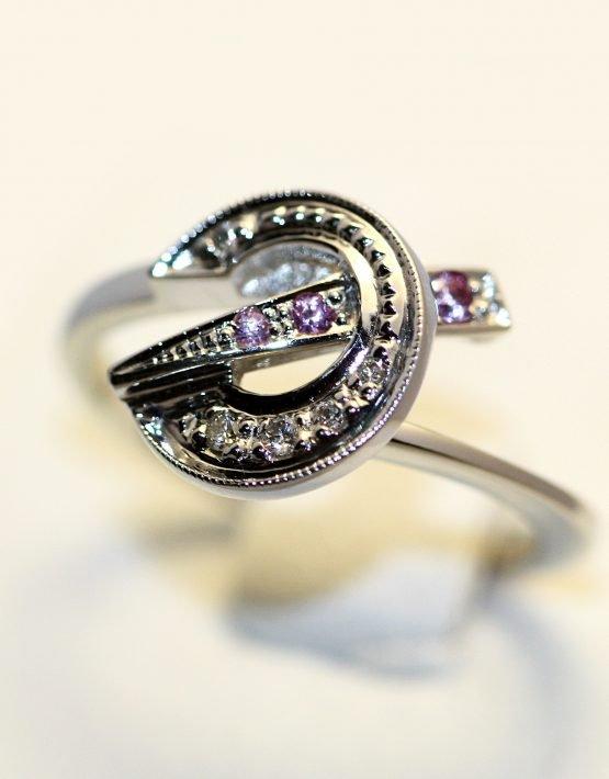 Купить кольцо из белого золота 585 пробы