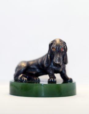 серебряная статуэтка животные
