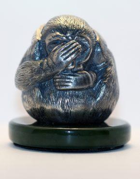 статуэтка обезьяна