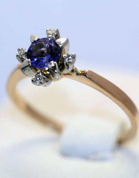кольцо из комбинированного