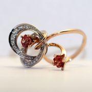 эксклюзивное золотое кольцо