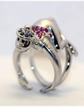 кольцо обезьяна