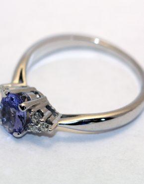 купить кольцо белое золото